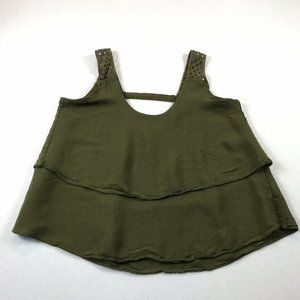 Anthropologie HD in Paris Tank Top Size 0 Tiered